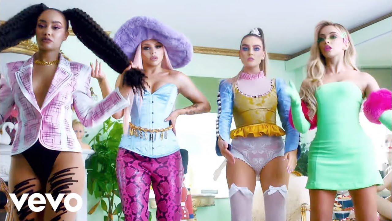 Integrantes Da Little Mix Sao Bonecas No Videoclipe De Bounce Back